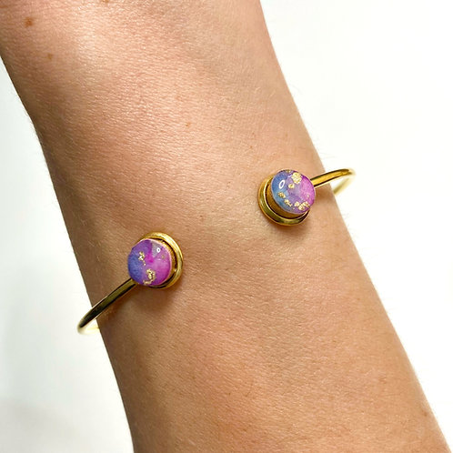 Wild Collection- Alexandrite (Purple Blue) and Gold