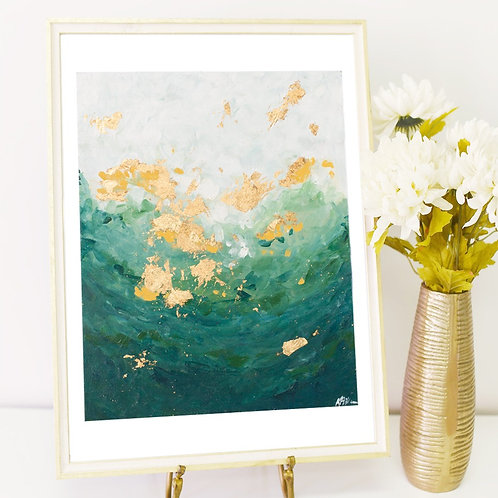 Mermaid's Gold-PRINT