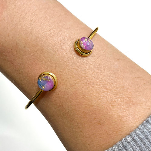 Wild Collection- Alexandrite (Purple Blue) and Gold 2