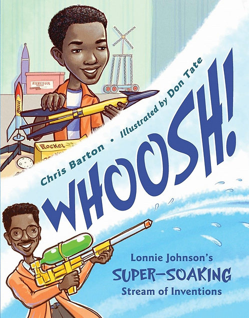 Whoosh! Lonnie Johnston's Super-soaking Stream of Inventions