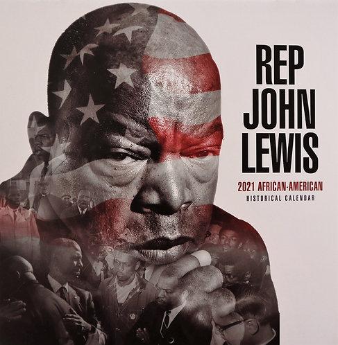Commemorative 2021 Black History Month Calendar: John Lewis