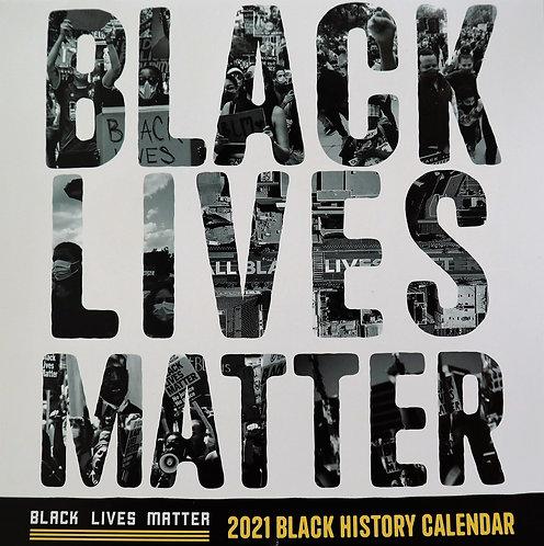Commemorative 2021 Black History Month Calendar: Black Lives Matter