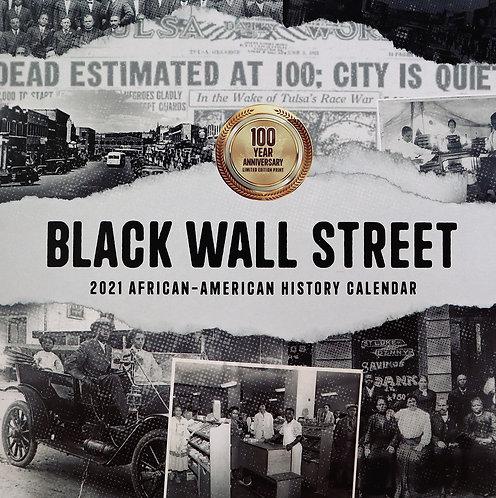 Commemorative 2021 Black History Month Calendar: Black Wall Street