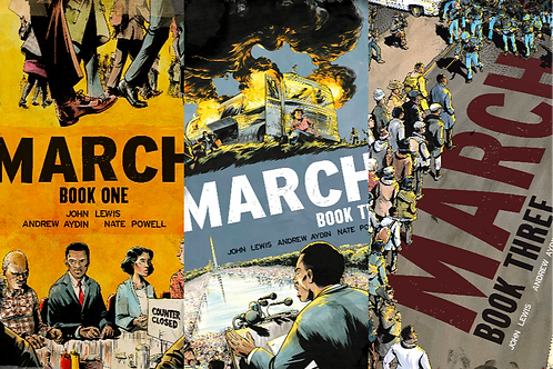 March [COMPLETE SET of 3]