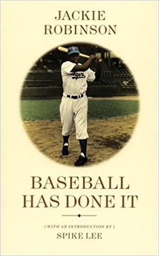 Baseball Has Done It