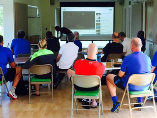 FA Referees CPD course held at the Grange Farm Centre.
