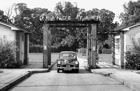 History of Grange Farm Chigwell