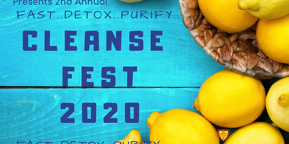 Cleanse Fest 2020 - 2nd Annual