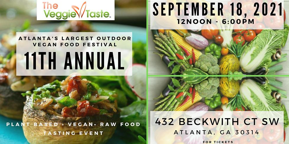 The Veggie Taste - 11th Annual 9.18.21