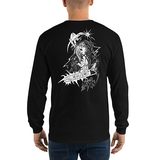 The Flannel Crew - Reaper Babe Long Sleeve TEE