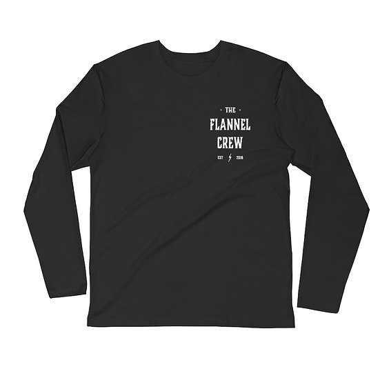 T.F.C Long Sleeve Fitted Crew