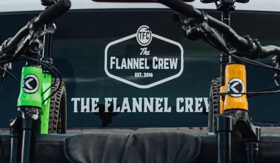 The Flannel Crew (Western) Sticker