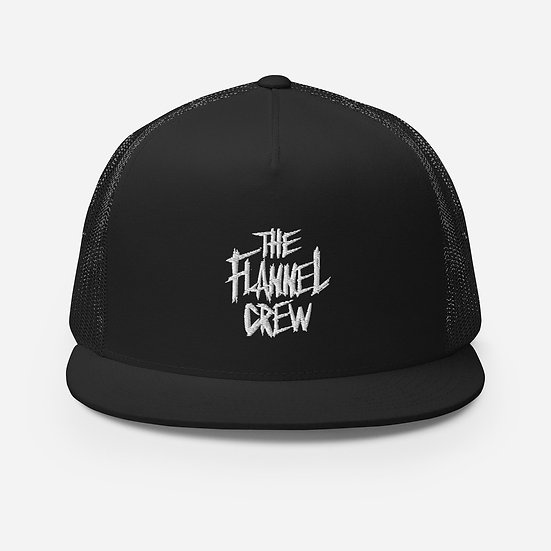 The Flannel Crew - Snapback Trucker Hat