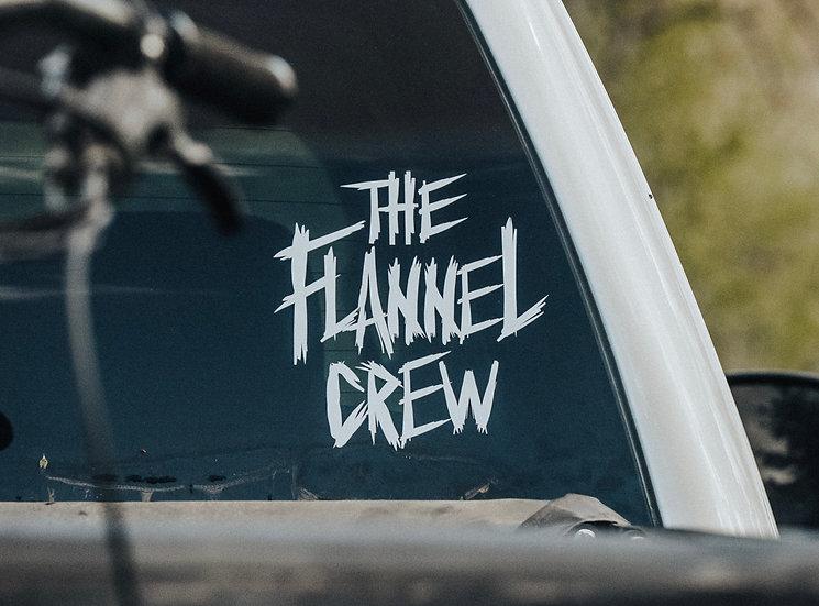 The Flannel Crew (Metal) Sticker