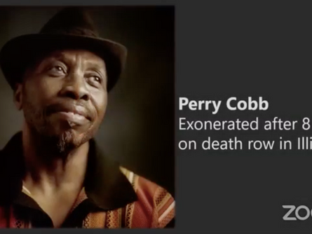 Perry Cobb Shares his Story of Wrongful Conviction on Herman Lindsey's Show, Cruel Justice