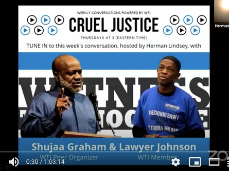 Herman Lindsey Talked with Shujaa Graham and Lawyer Johnson on this Week's Episode of Cruel Justice