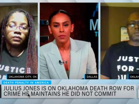 Herman Lindsey and Antoinette Jones, Sister of Julius Jones, Interviewed on Making the Case