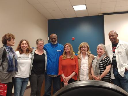 NJ Indivisible chapter hosts exoneree Shujaa Graham