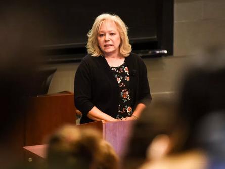 Exoneree Debra Milke speaks at Cornell University