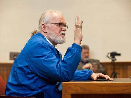 Kirk Bloodsworth Speaks at Cornell University