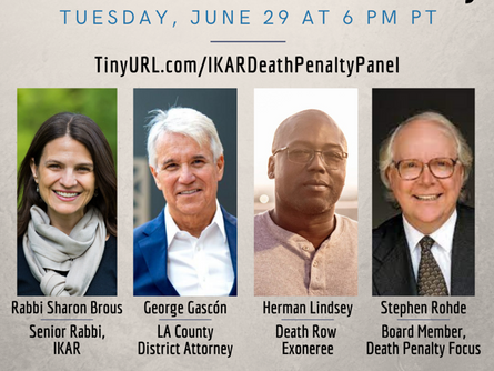 Herman Lindsey Featured on Death Penalty Focus Panel Discussion