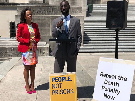 Exoneree Shareef Cousin fights for abolition in Louisiana