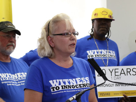 Debra Milke Speaks at Women's Group