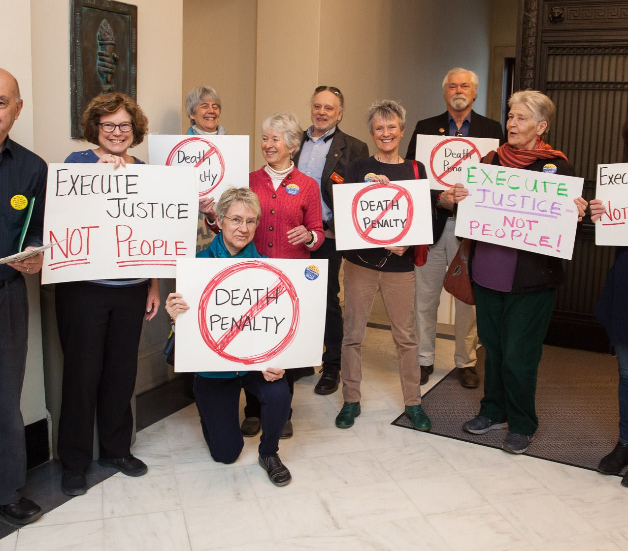 Supporters of HB 455