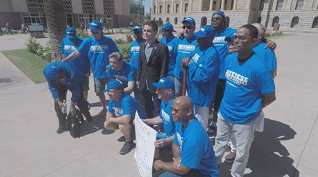5/4/18: Death Row Exonerees at Arizona's State Capitol - 12 News