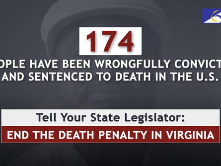 Kwame Ajamu Featured in Virginia Death Penalty Abolition Campaign