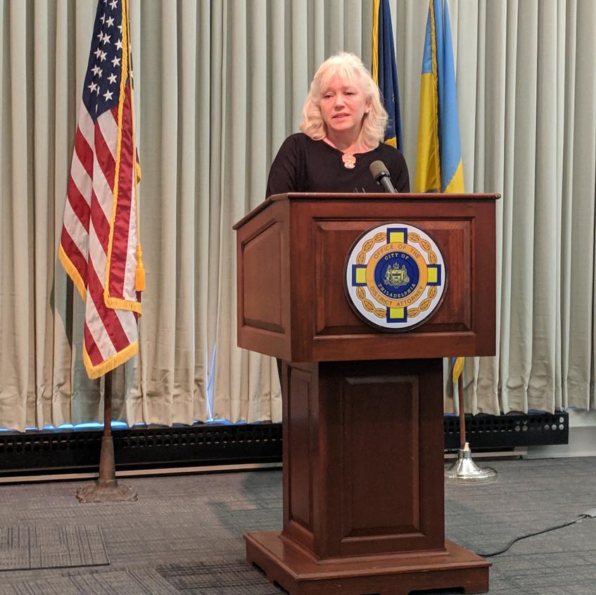 Debra Milke speaking