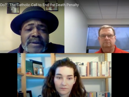 "Kwame Ajamu Spoke at Catholic Mobilizing Network Event ""What is Ours to Do?"""