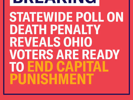 Ohio Poll Shows Voters Ready to Repeal Death Penalty