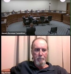 Ray Krone Testified in Support of Wyoming Death Penalty Abolition Bill