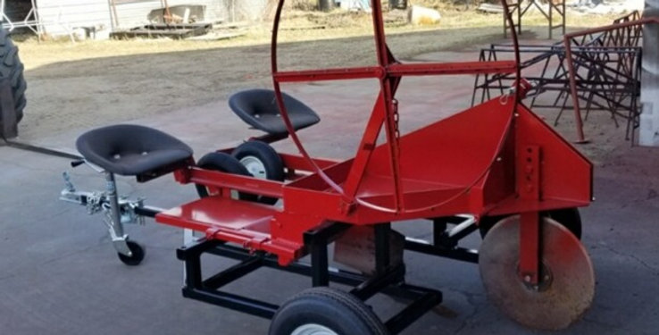 Tree Planter for Rent-20 inch coulter, with 2 seats