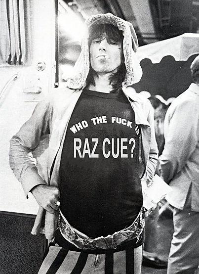 Who the Fuck is Raz Cue