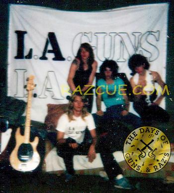 L.A. Guns, October 1984