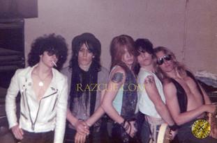 Guns N' Roses Very First Photo Shoot