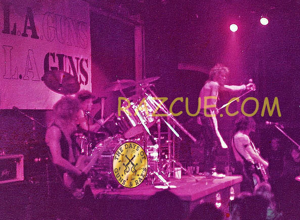 L.A. Guns 1984