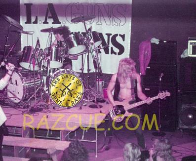 L.A. Guns, Ole Beich & Rob Gardner