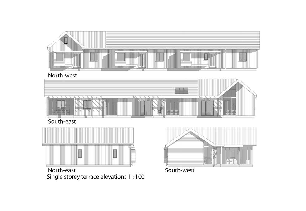 Proposed Single Storey Elevations