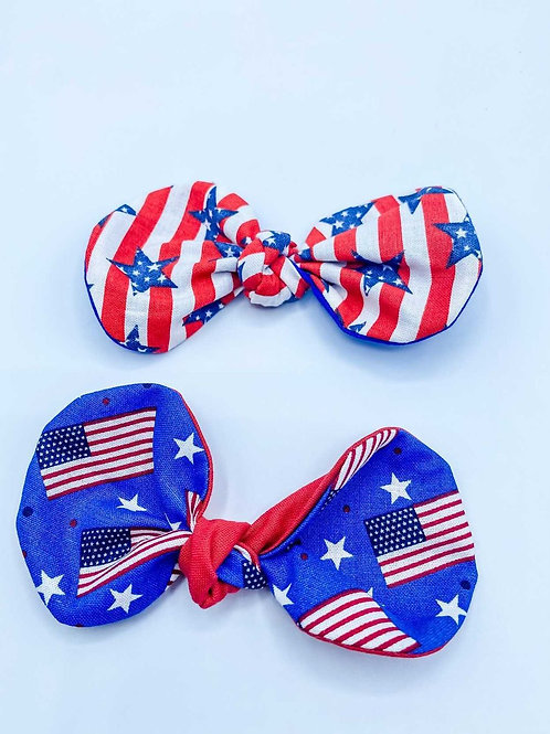 HAIRBOW 4TH OF JULY X2