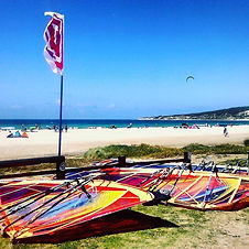 Tarifa Spin Out Windsurf Rental Alquiler Spain