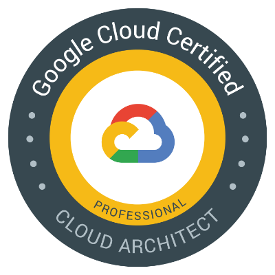 Google Certified Professional Cloud Architect