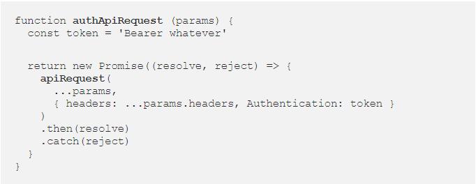 phiên bản chuyên biệt cho hàm apiRequest