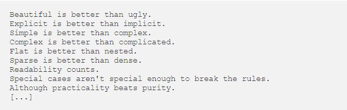 The Zen của Python so với The Greed của Julia