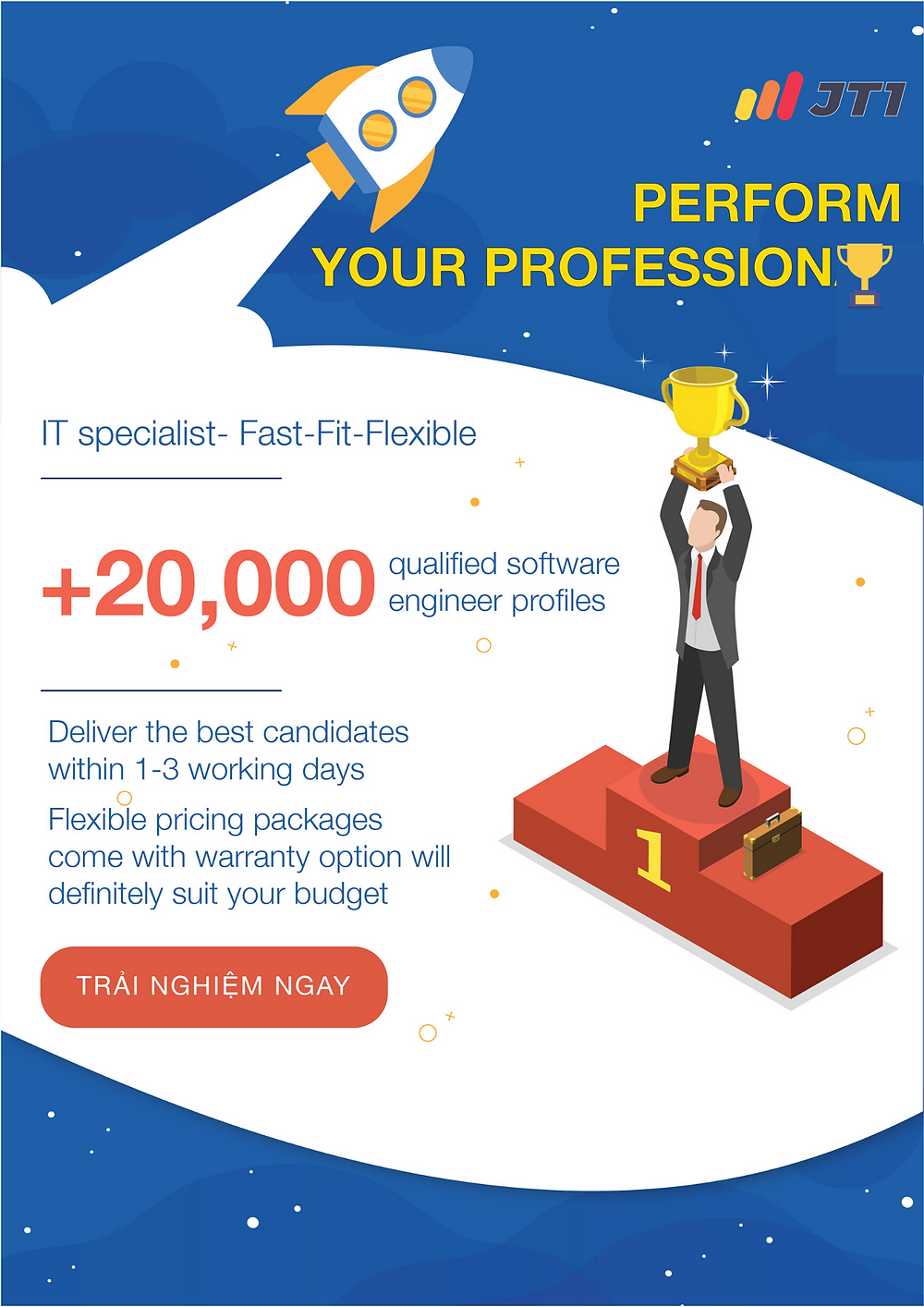 IT specialist - Fast - Fit - Flexible