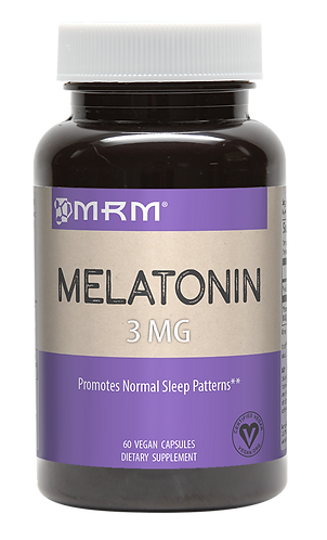 MRM Melatonin 3mg (60 Vegetarian Caps)