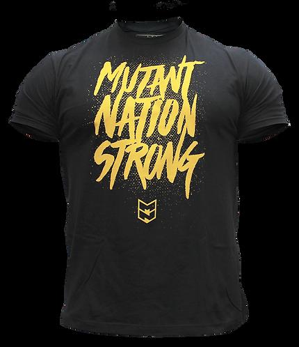 MUTANTNATION STRONG - BLACK TEE