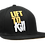 Thumbnail: MUTANT LIFTTOKILL - BLACK FLAT BILL CAP